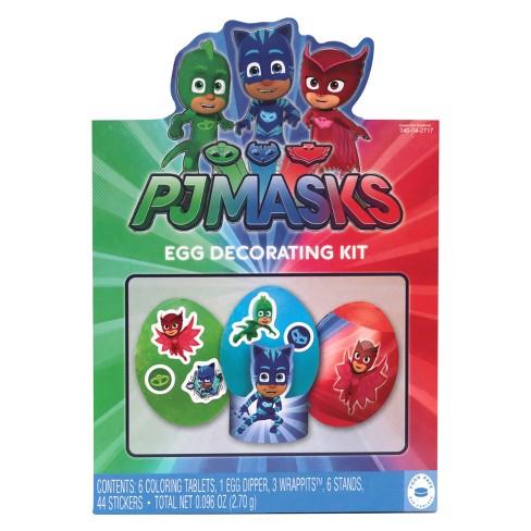 Easter PJ Masks Egg Decorating Kit : Target