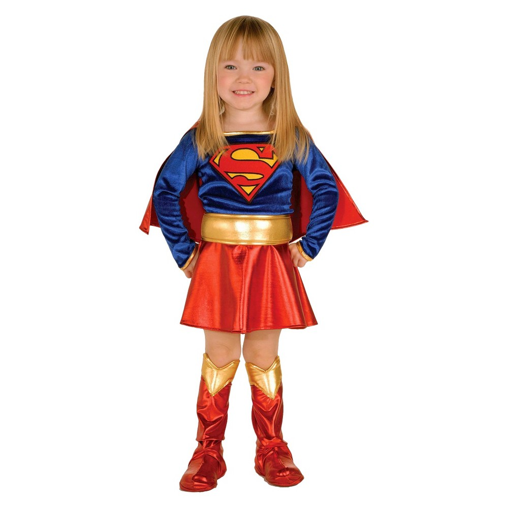 Image of Halloween Toddler DC Super Hero Girls Costume - 2T/4T, Girl's, Size: Small