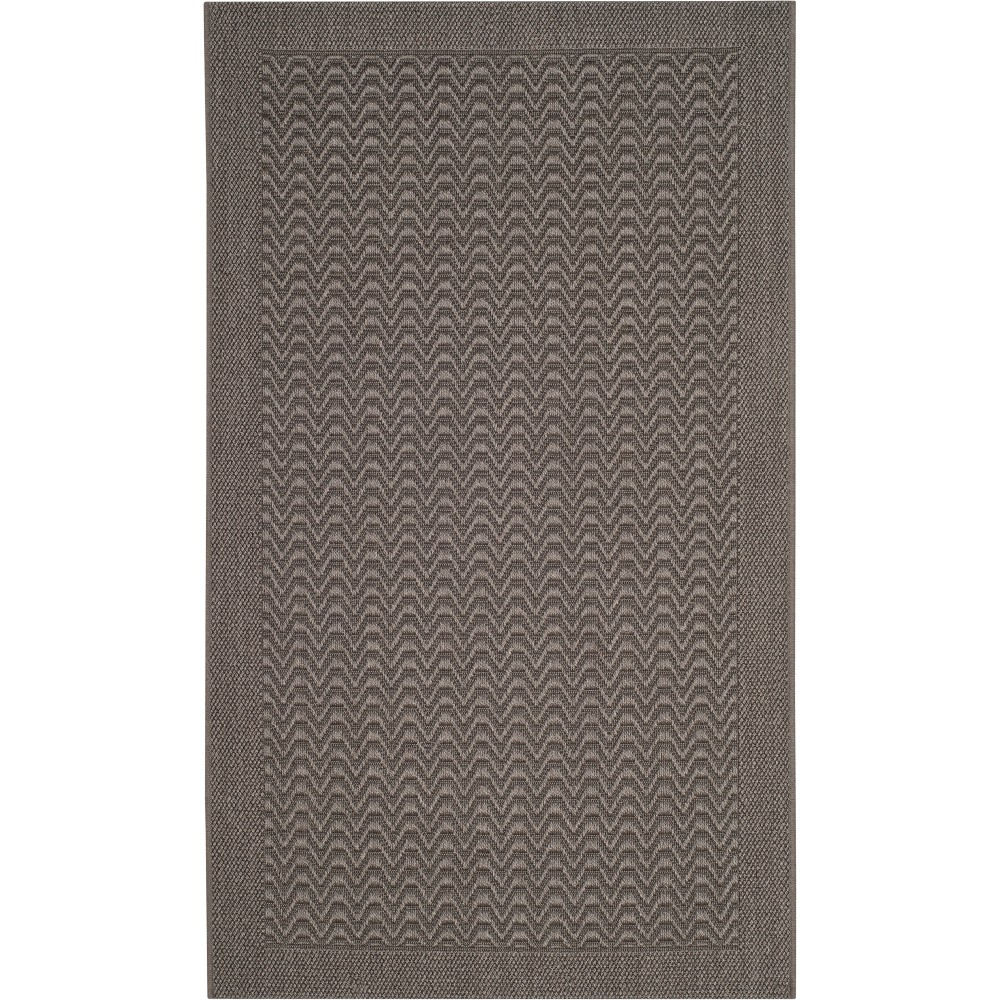 4'X6' Solid Loomed Area Rug Ash/Light Gray (Grey/Light Gray) - Safavieh