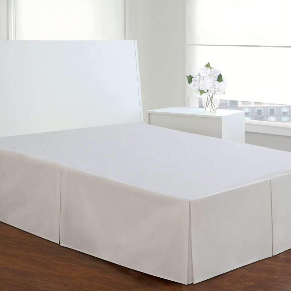 White Tailored 14 Bed Skirt Twin Levinsohn