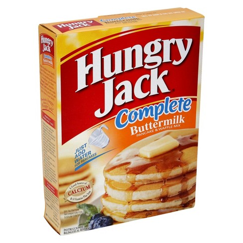 Hungry Jack Complete Buttermilk Pancake Waffle Mix 32oz Target