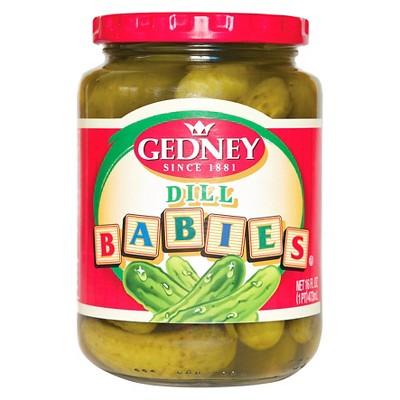 Gedney Baby Dill Pickles - 16oz
