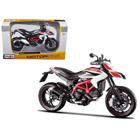 2013 Ducati Hypermotard SP White Motorcycle Model 1/12 by Maisto - image 1 of 1