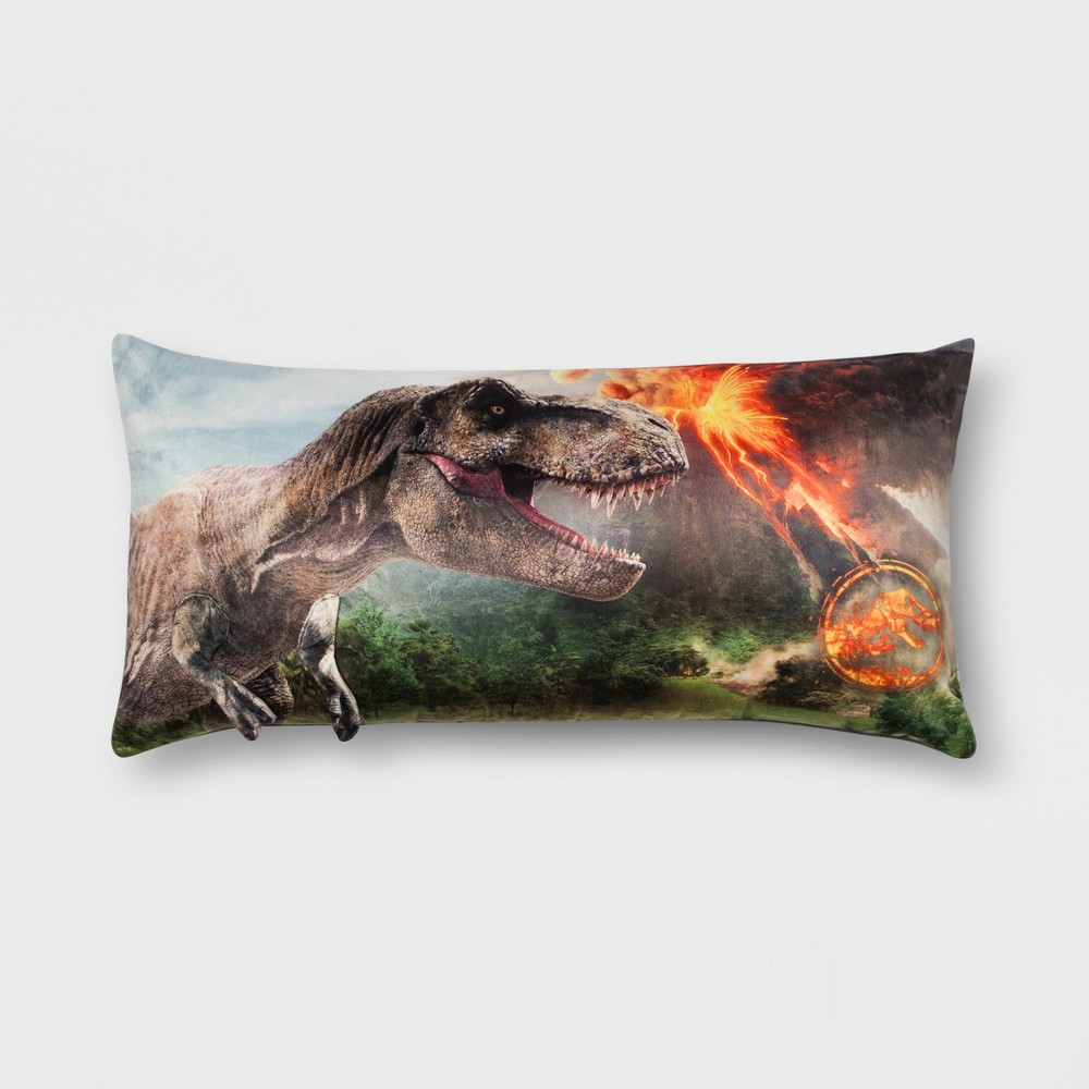 Image of Jurassic World Body Pillow, Multi-Colored