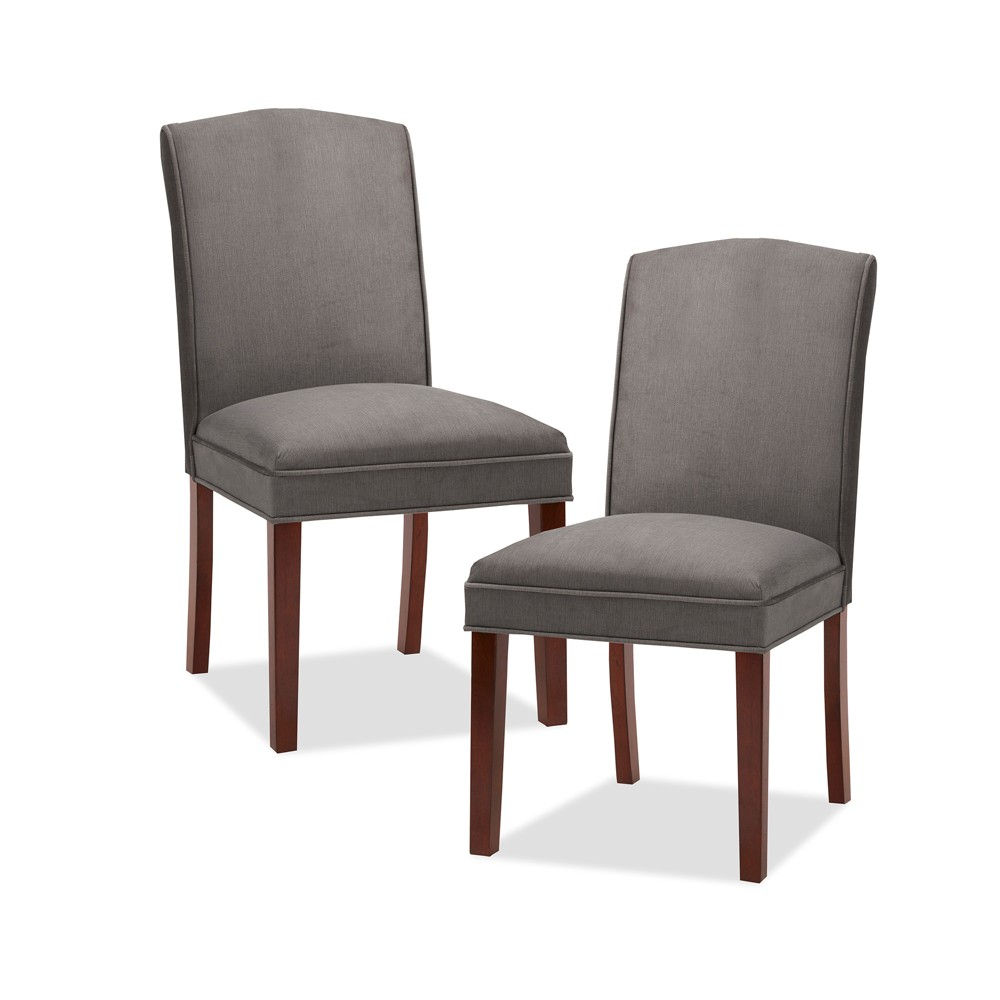 Set of 2 Amory Dining Chair Light Brown