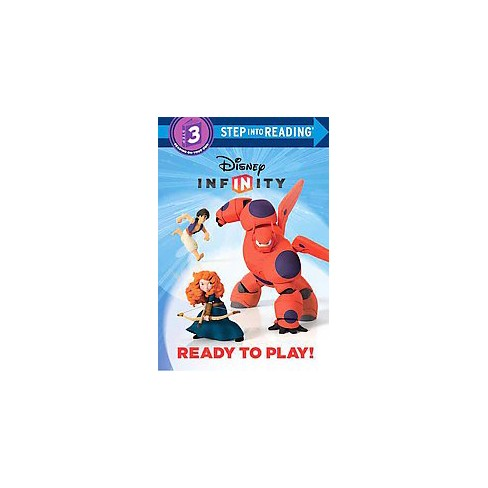 Ready to Play! (Disney Infinity) - (Step Into Reading) by  Victoria Saxon (Paperback) - image 1 of 1