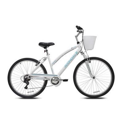 "Kent Women's Avondale 26"" Cruiser Bike - White"