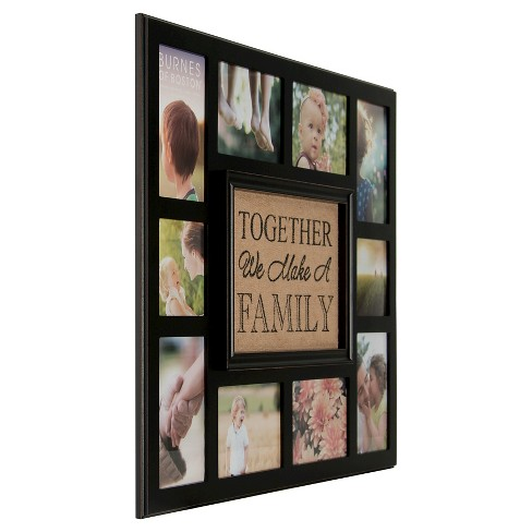 Burnes Of Boston Multiple Image Frame Brown 3x5 Target