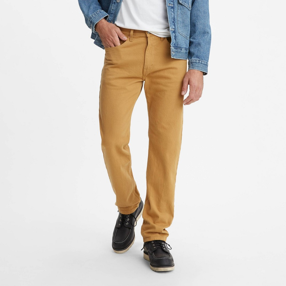 Levi 39 S 174 Men 39 S 505 8482 Straight Regular Fit Jeans Gold Medal 40x30