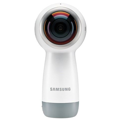 Samsung Gear 360 4K Camera (2017 Version) - White - image 1 of 8