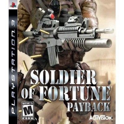 Soldier of Fortune: Payback - PlayStation 3
