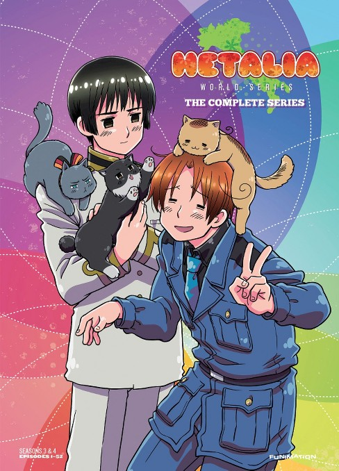 Hetalia:World series complete series (DVD) - image 1 of 1