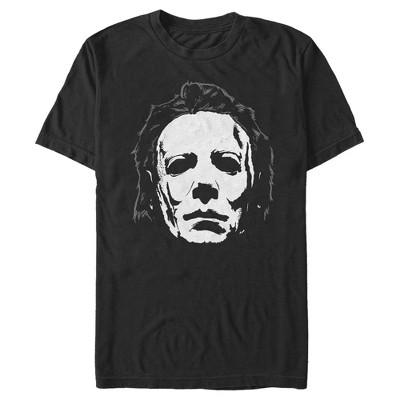 Men's Halloween II Michael Myers Face T-Shirt