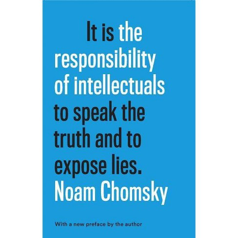 The Responsibility of Intellectuals - by  Noam Chomsky (Hardcover) - image 1 of 1