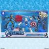 Marvel Avengers Bend and Flex - Taskmaster vs Iron Man and Captain America - image 3 of 4