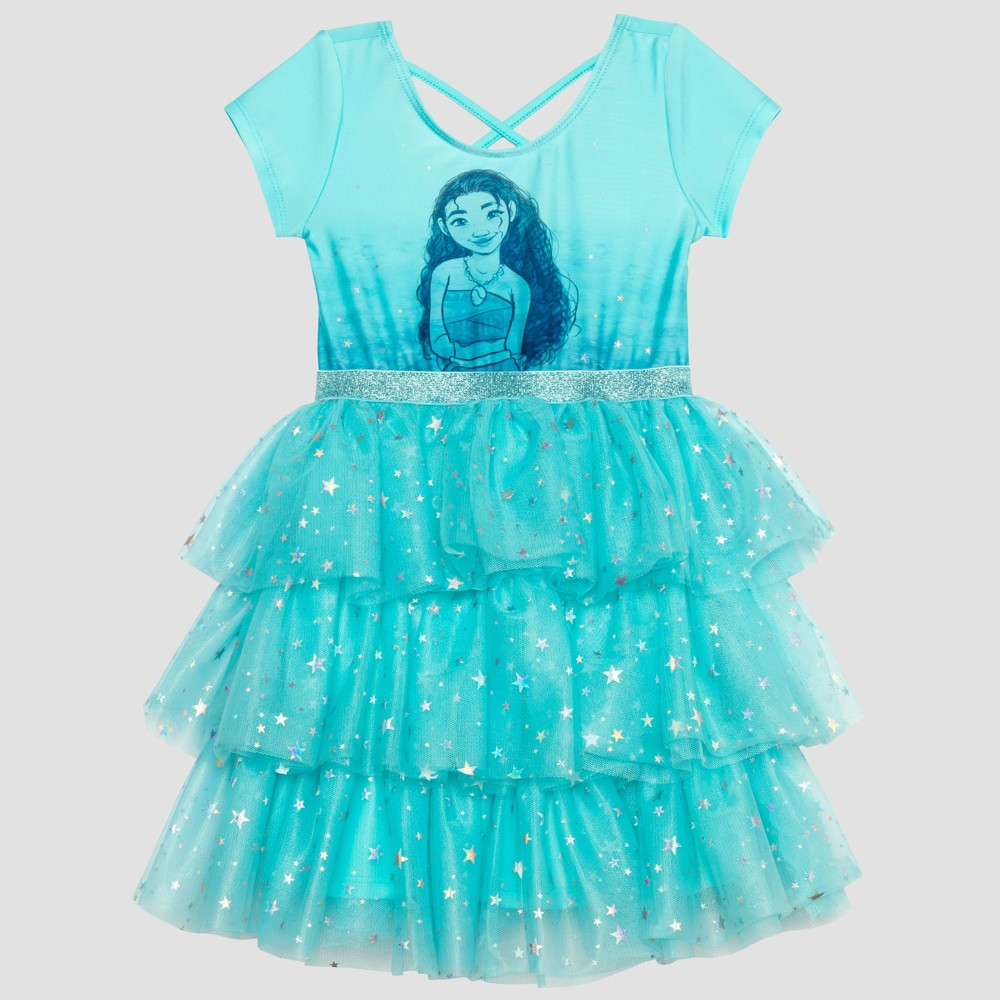 Toddler Girls' Moana Tutu - Blue 4T