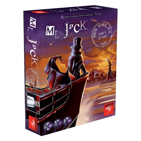 Hurrican Mr. Jack in New York Board Game - image 1 of 4