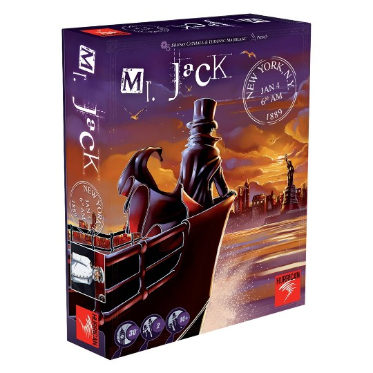 Hurrican Mr. Jack in New York Board Game image number null