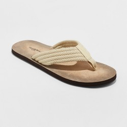 Men's Remington Flip Flop Sandals - Goodfellow & Co™ Tan