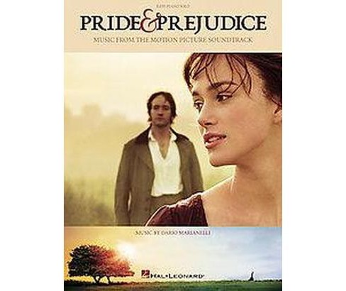 Pride & Prejudice : Music from the Motion Picture Soundtrack: Easy Piano Solo (Paperback) - image 1 of 1