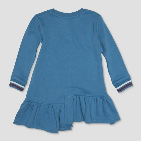 695dacf00df Toddler Girls  Harry Potter Leviosa Patches Dress - Light Blue   Target