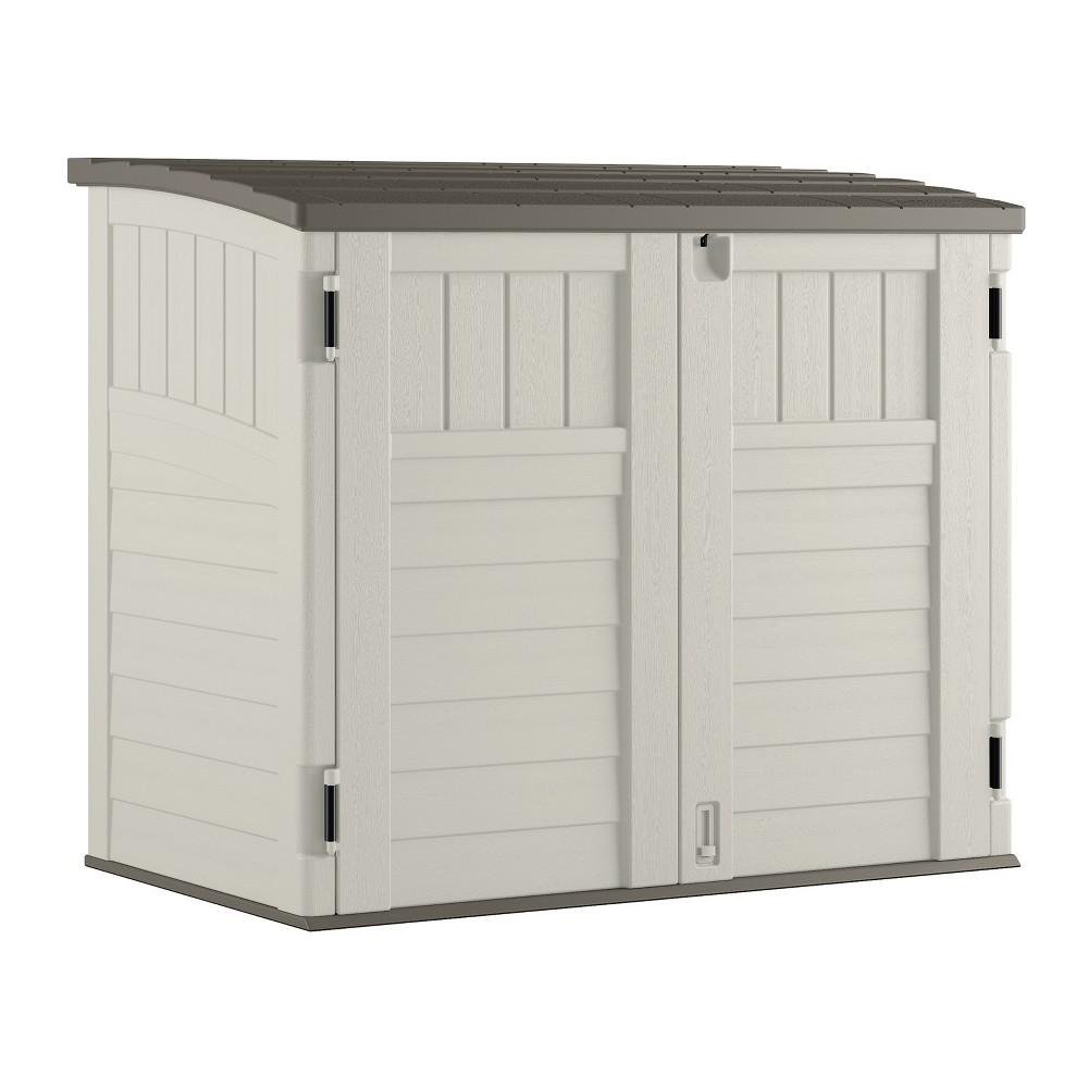 Small Horizontal Storage Shed - Vanilla - Suncast, Off White
