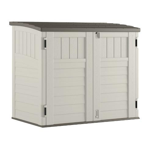 Small Horizontal Storage Shed - Vanilla - Suncast - image 1 of 6