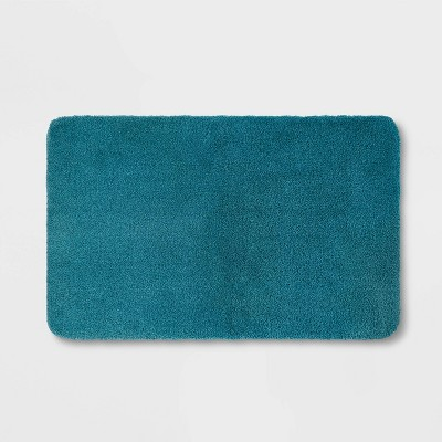 "37""x23"" Performance Nylon Bath Rug Turquoise - Threshold™"