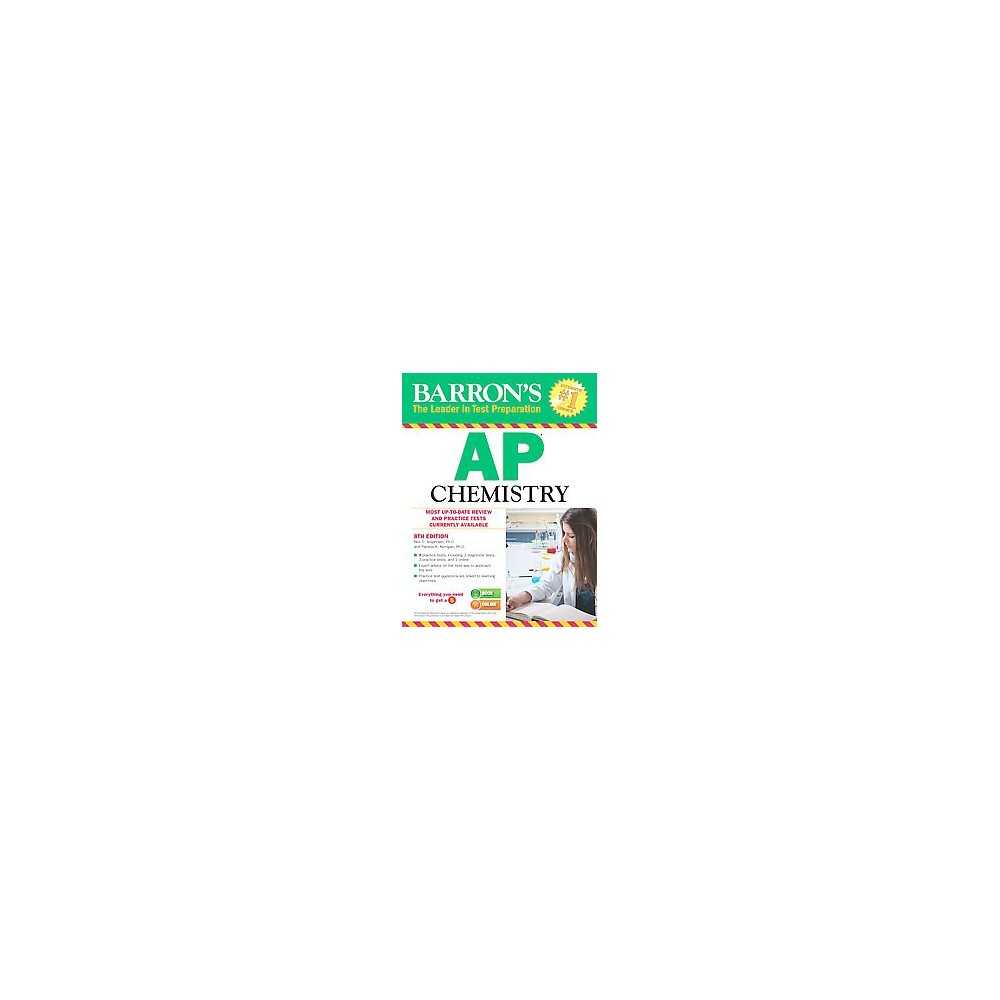 Barron's AP Chemistry (Revised) (Paperback) (Neil D. Jespersen)