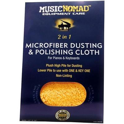 Music Nomad Microfiber Dusting & Polishing Cloth - Pianos & Keyboards