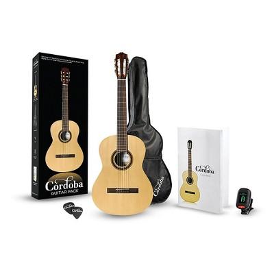 Cordoba CP100 Classical Guitar Pack Natural