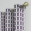 Murphy Geometric Blackout Rod Pocket Curtain Panel - Sun Zero - image 2 of 4