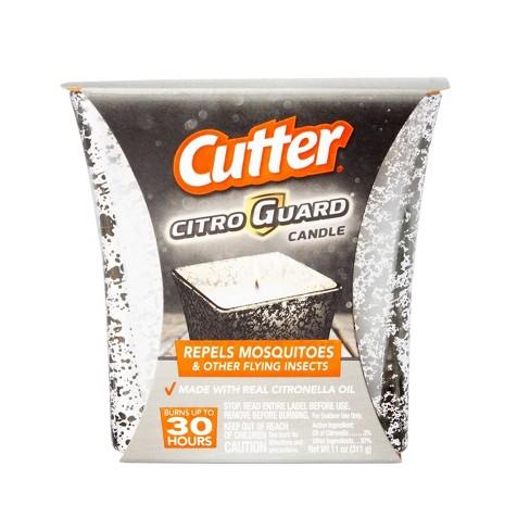 Cutter 11oz CitroGuard Mercury Glass Citronella Candle - image 1 of 2