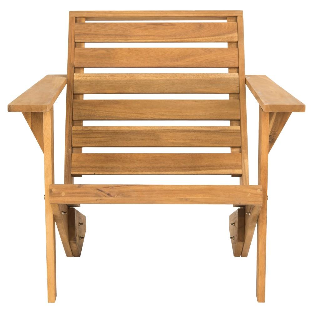 Lanty Adirondack Chair - Teak (Brown) - Safavieh
