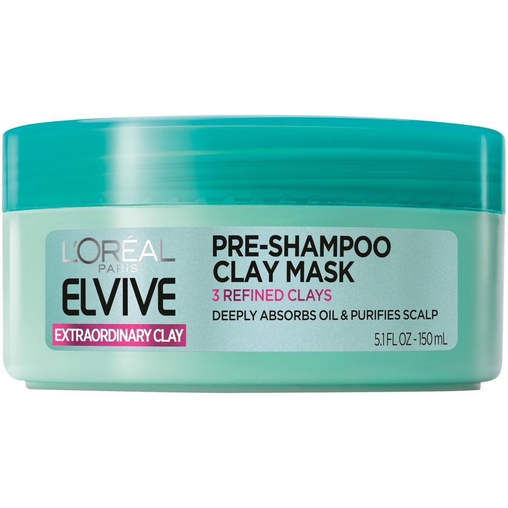 L'Oréal Paris Elvive Extraordinary Clay Pre-Shampoo Mask - 5.1 fl oz