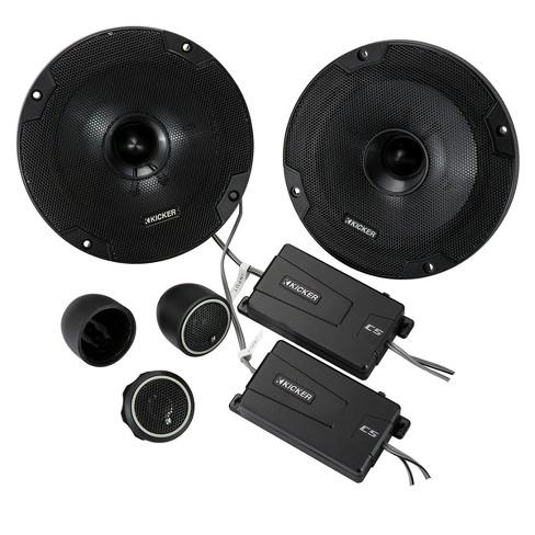 "Kicker 46CSS654 CS-Series 6-1/2"" 2-Way Component Speakers - image 1 of 4"