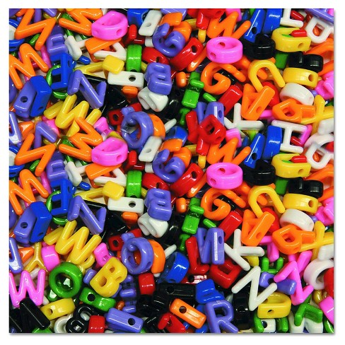 Creativity Street® Upper Case Letter Beads - Multi-Colored (288 Per Set) - image 1 of 1