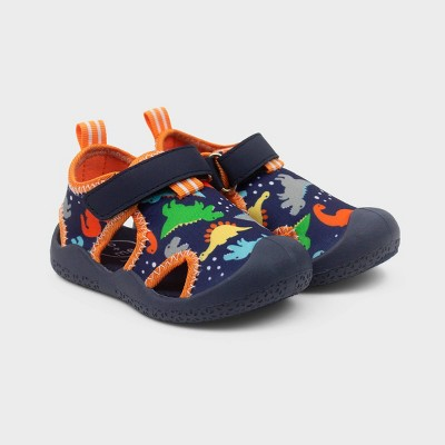 Ro+Me by Robeez Baby Boys' Rubber Dino Shoes
