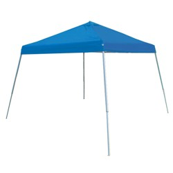 King Canopy SLANT10-BL 10 x 10 Foot Instant Canopy Shelter Slant Leg Tent, Blue