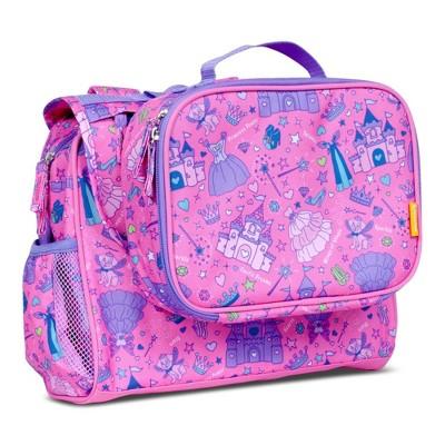 "Bixbee 12.5"" Kids' Imagination Backpack & Lunchbox Set"