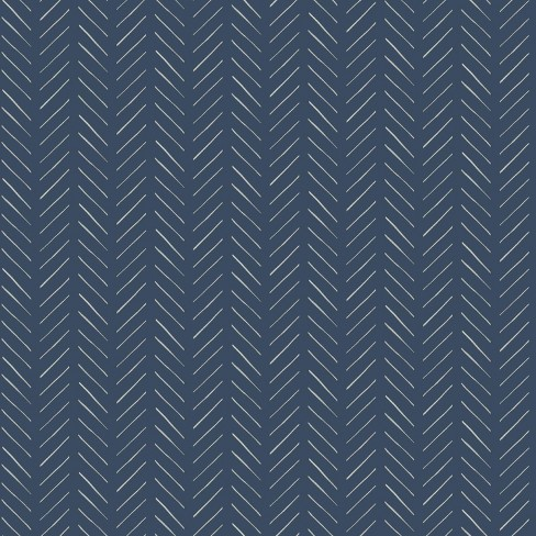 Roommates Pick Up Sticks Magnolia Home Wallpaper Blue Target