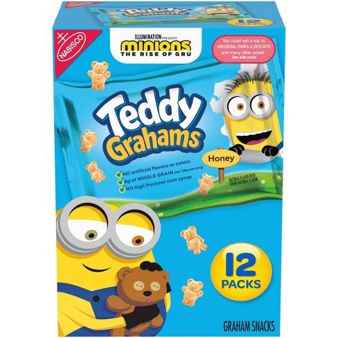 Teddy Grahams Honey Graham Snacks - Variety Pack - 12ct/1oz - image 1 of 4