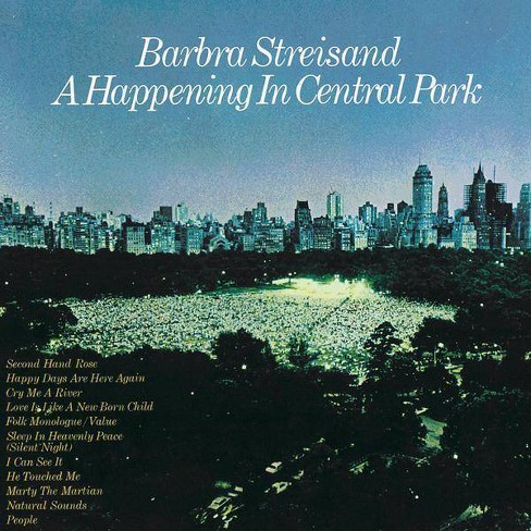 Barbra Streisand - A Happening In Central Park (CD) - image 1 of 1