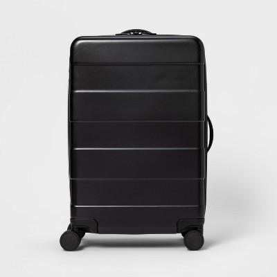 """Hardside 25"""" Spinner Suitcase Black - Made By Design™"""