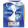 Always Infinity Overnight Sanitary Pads with Wings - image 4 of 4
