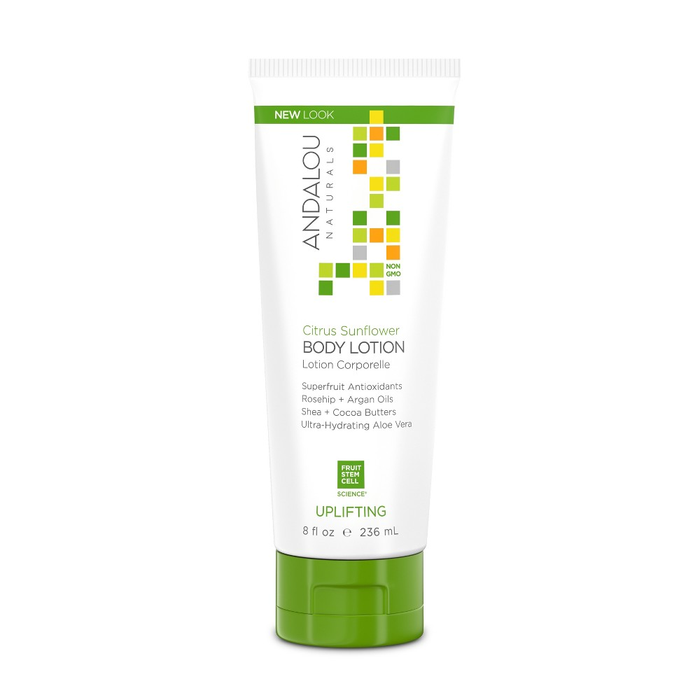 Image of Andalou Naturals Uplifting Citrus Sunflower Body Lotion - 8 fl oz
