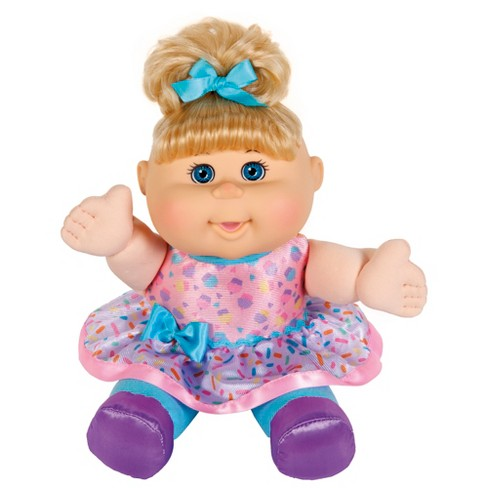 """12"""" Cabbage Patch Sweets 'n Treats Blonde Doll - Sprinkle Skirt - image 1 of 2"""