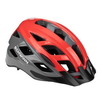 Schwinn Dash Adult Helmet - Red/Gray