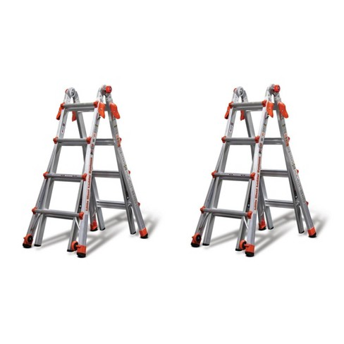 Little Giant Ladder Systems 17' Type IA Aluminum Multi Position Ladder (2 Pack) - image 1 of 4