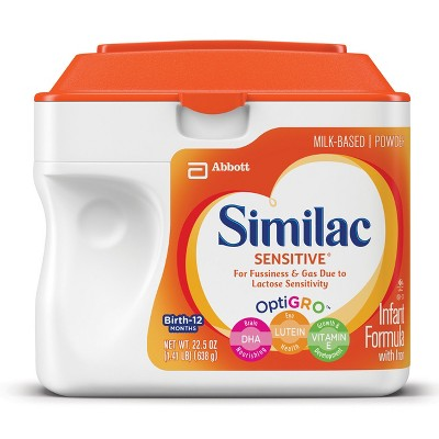 Similac Sensitive Infant Formula Powder with Iron - 22.5oz